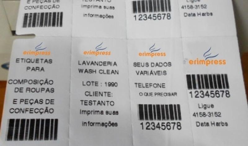 Empresa Que Faz Etiqueta Gondola Pequena Ibirapuera - Etiqueta de Gondola Branca