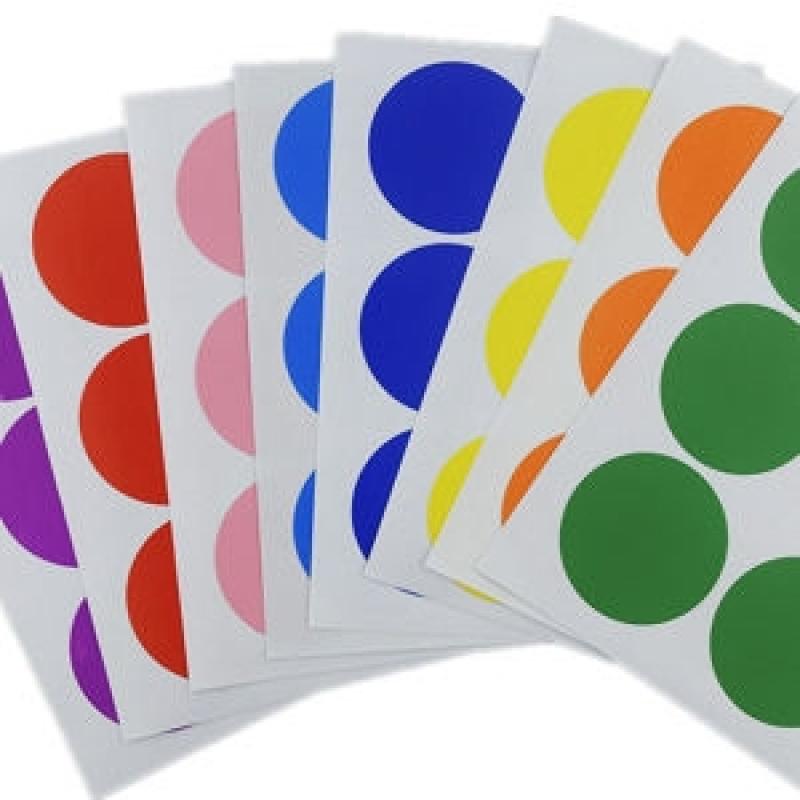 Etiqueta Adesiva Redonda Vila Esperança - Etiquetas Adesivas Coloridas