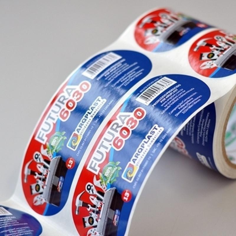 Etiqueta e Rótulo Adesivo Personalizado Bela Vista - Rótulos Adesivos para Embalagens
