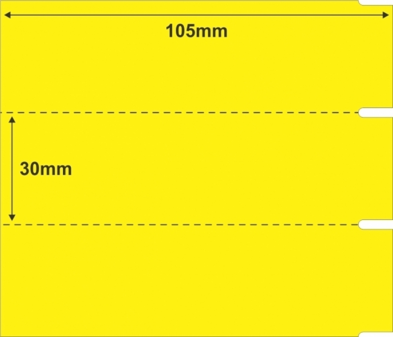 Etiqueta Gondola Valor República - Etiqueta de Preço para Gondola