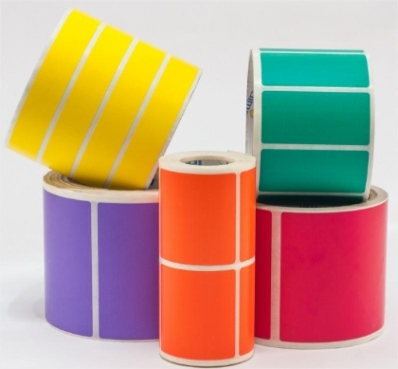 Etiquetas Adesivas em Rolo Santa Efigênia - Etiquetas Adesivas Personalizadas