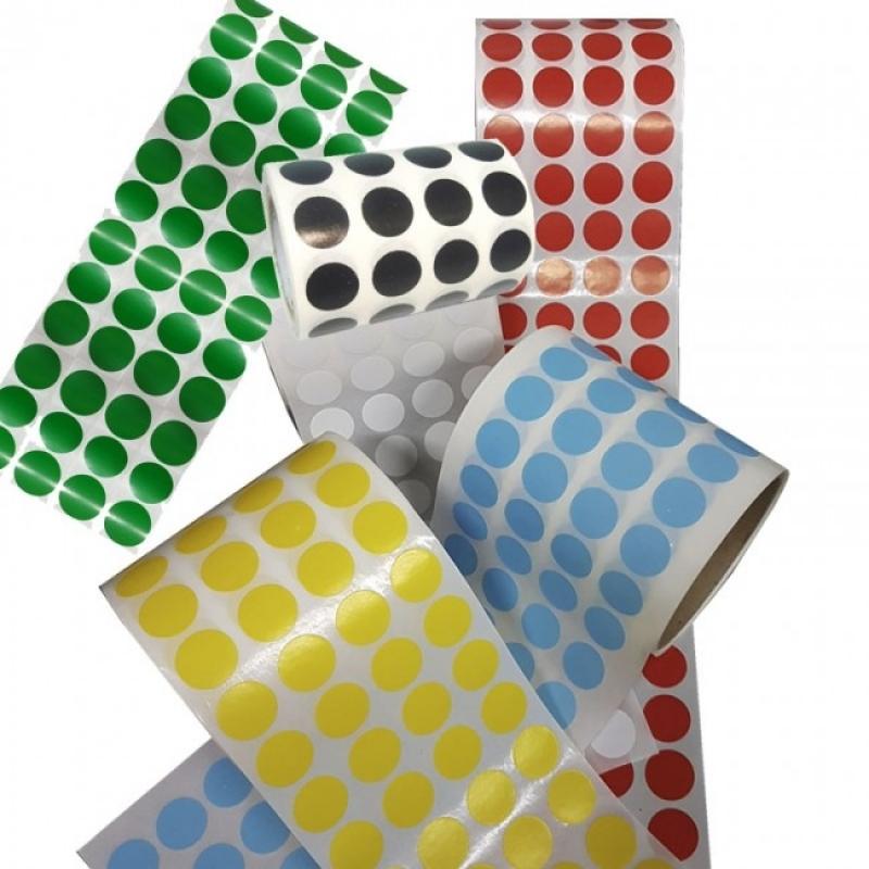 Etiquetas Adesivas Redondas Valores Mandaqui - Etiquetas Adesivas Coloridas