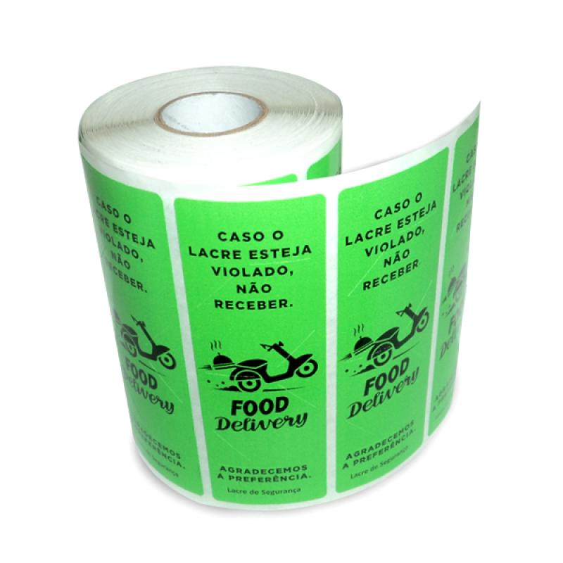 Lacre Adesivo Interlagos - Lacre Adesivo Personalizado
