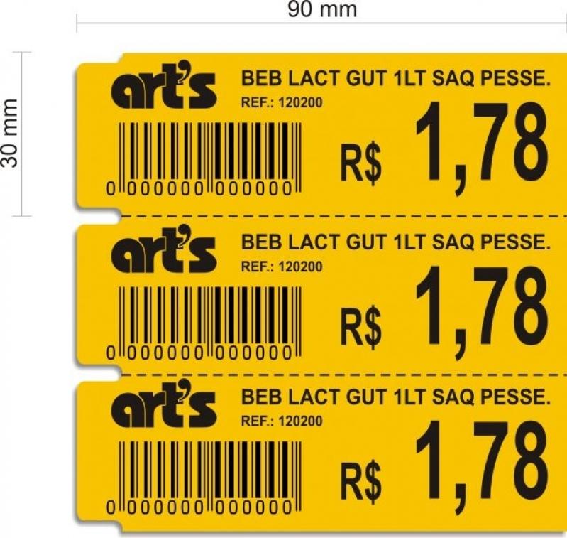 Onde Encontro Etiqueta Tag Cartão Santa Cruz - Etiqueta Tag Preço