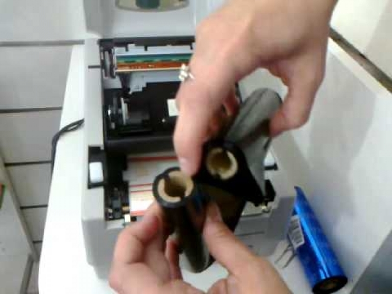 Onde Encontro Fita Ribbon Impressora Vila Tramontano - Ribbon Etiqueta