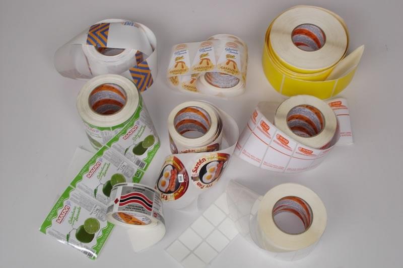 Preço de Rótulos e Adesivos Personalizados Cambuci - Rótulos Adesivos para Embalagens