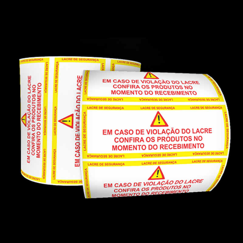 Preço do Lacre de Segurança Roupas Jardim Guarapiranga - Fabrica de Lacre de Segurança