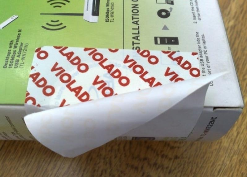 Preço do Lacre Segurança Guarulhos - Lacre de Segurança Adesivo