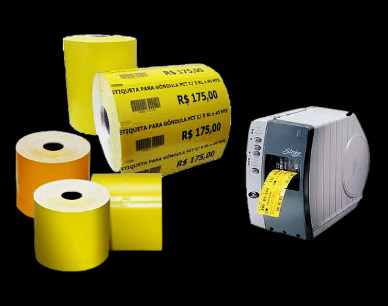 Preços da Impressora de Etiqueta de Gondola Guarulhos - Etiqueta de Gondola Branca
