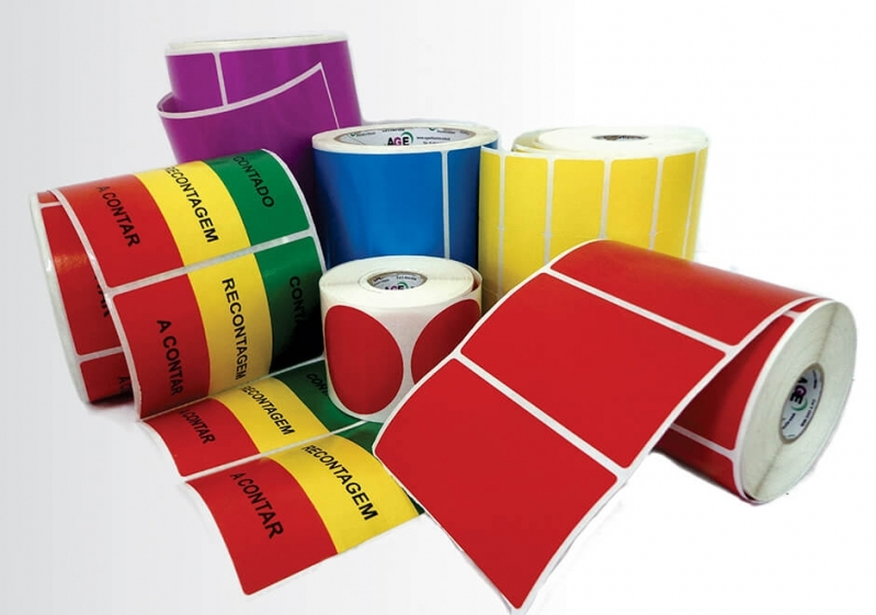 Procuro por Etiquetas Adesivas Coloridas Campo Grande - Etiquetas Adesivas em Rolo