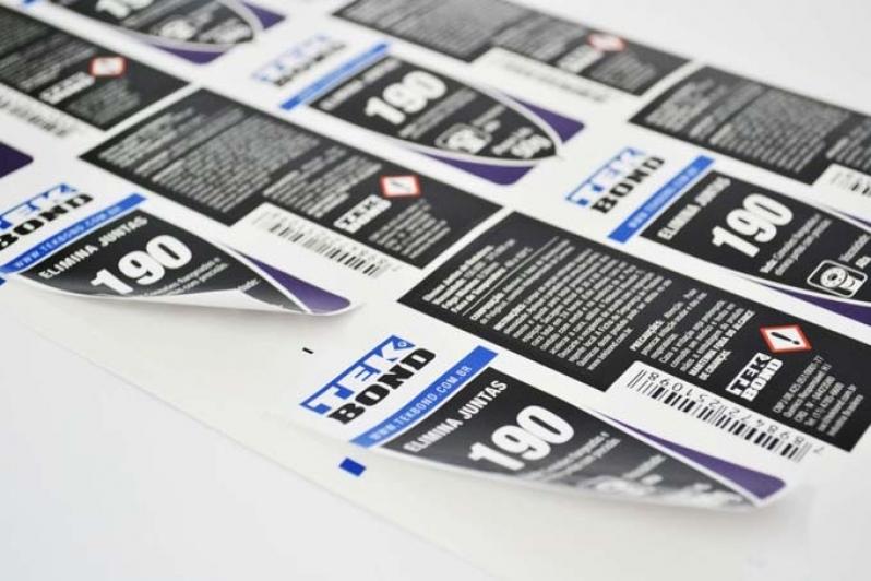 Procuro por Impressão de Etiquetas Adesivas Jaçanã - Etiquetas Adesivas em Rolo