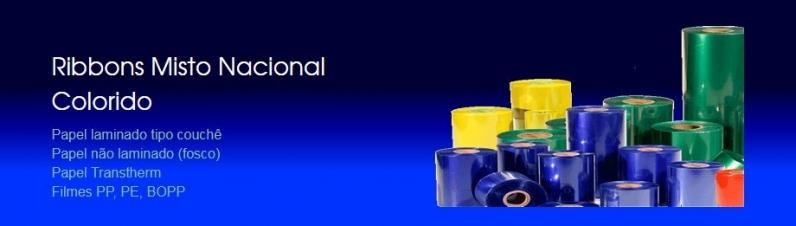 Ribbon Colorido Valores Vila Suzana - Ribbon de Impressora