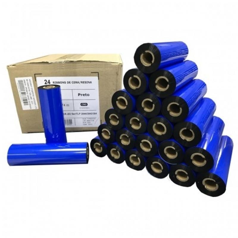 Ribbon Zt230 Preço Engenheiro Goulart - Ribbon Zebra Tlp 2844