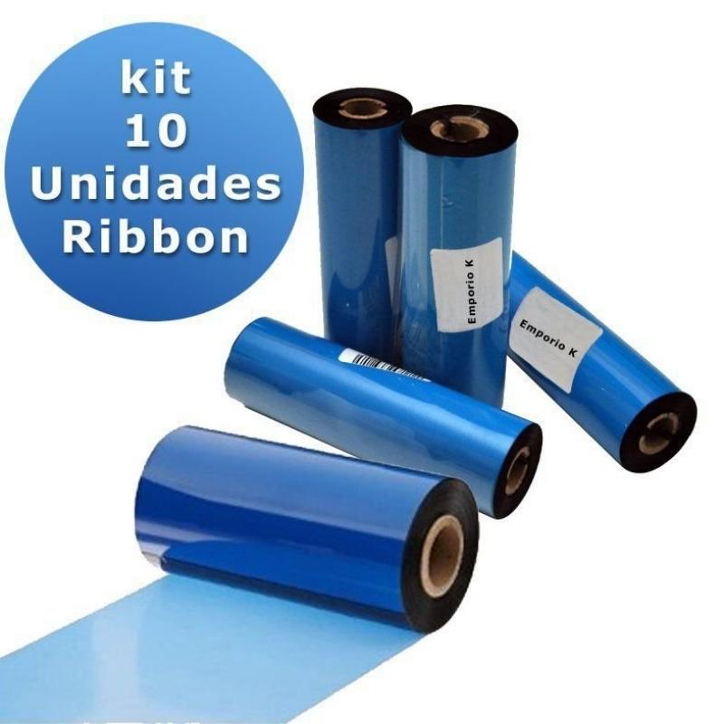 Ribbons de Impressora Jockey Clube - Ribbon Etiqueta