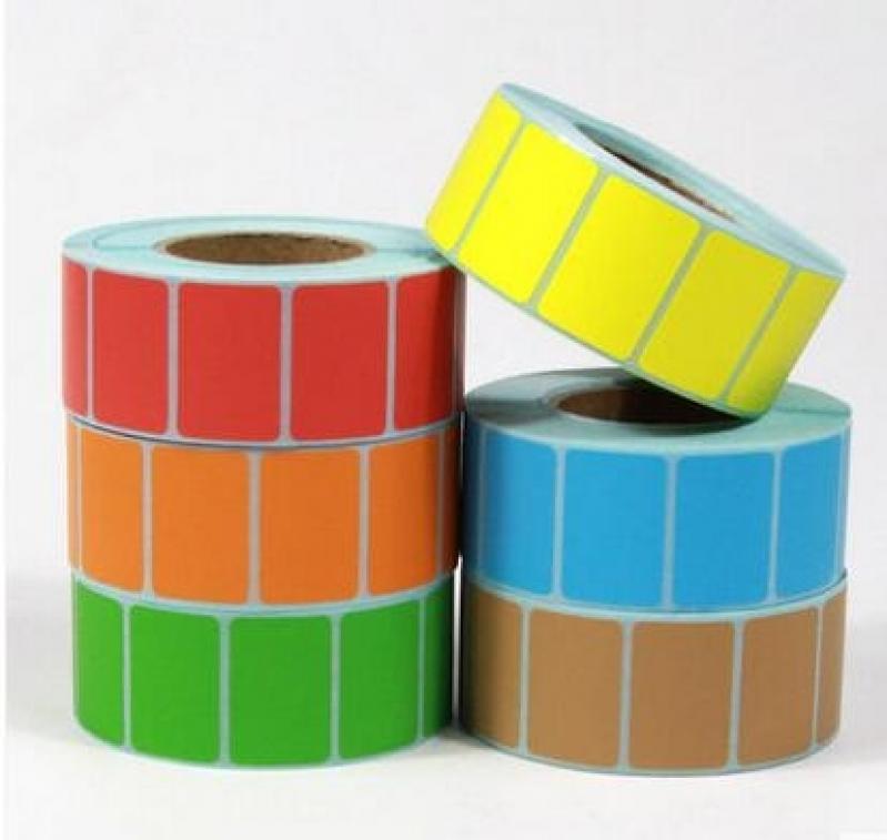 Rolo de Etiquetas Adesivas Valores Itaquera - Rolo de Etiquetas Adesivas
