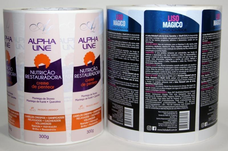 Rótulos Adesivos para Cosméticos para Comprar Chácara do Piqueri - Etiquetas e Rótulos Adesivos