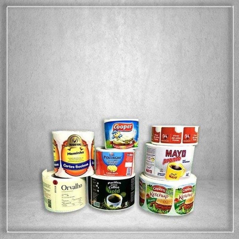Rótulos e Adesivos Personalizados Centro - Rótulos Adesivos para Embalagens