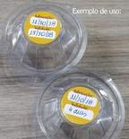 adesivos lacres casca de ovo Belém