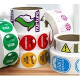 etiquetas adesivas personalizadas Vila Esperança