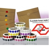 etiquetas adesivas redondas Pedreira