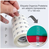 etiquetas adesivas transparentes Campo Limpo