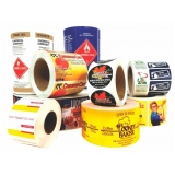 etiquetas e rótulos adesivos para comprar Bom Retiro