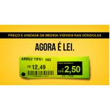 etiquetas para gondola de supermercado São Mateus