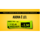 etiquetas para gondola de supermercado Vila Mariana