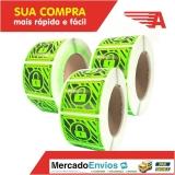 fabrica de lacre de segurança preço Vila Morumbi