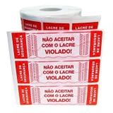 lacre de segurança plástico orçamento Jardim Paulista