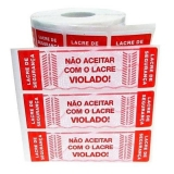 lacre de segurança plástico orçamento Ibirapuera