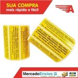 lacre de segurança roupas Ibirapuera