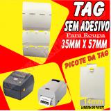 onde comprar etiqueta tag papel Tucuruvi