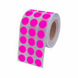 onde encontro etiquetas adesivas redondas República