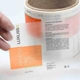 procuro por etiquetas adesivas transparentes Brasilândia