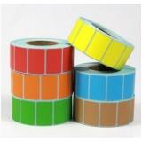 rolo de etiquetas adesivas valores Campo Belo