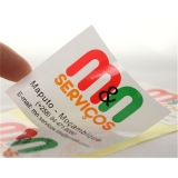 valor de etiquetas e rótulos adesivos personalizados Casa Verde